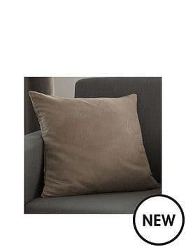 Faux Suede Cushion Cover Mink